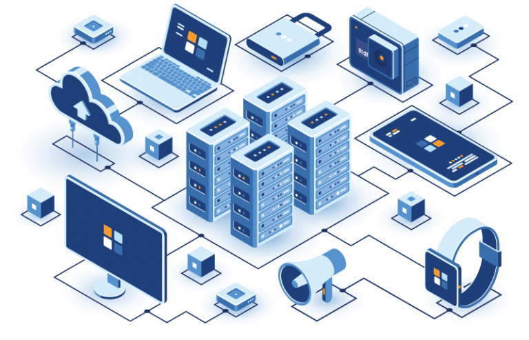 BOATech IT Information Technology Services Illustration